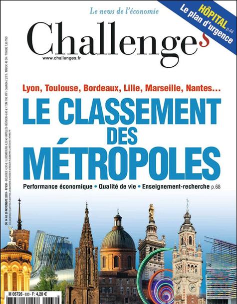 Challanges métropoles