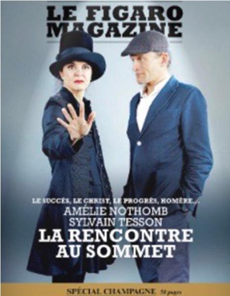 Figaro Magazine special champagne